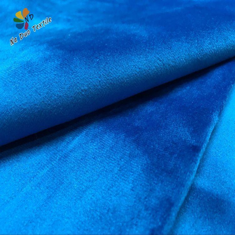 Fabricación de alta calidad al por mayor de textiles para el hogar de tela de terciopelo para el sofá