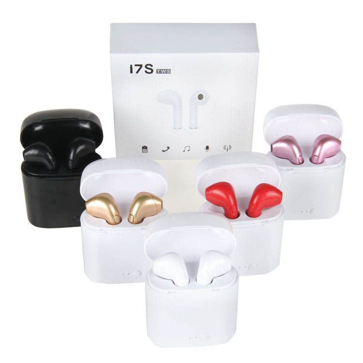 2019 newest i7s tws 5.0 wireless casque audio bluetooth earpiece noise cancelling headphone bluetooth headset