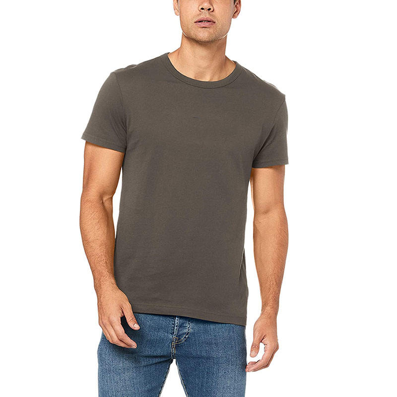 Five Men OEM Custom Men'S Heather Color Polyester Rayon Cotton T Shirt Blank Tri-Blend T Shirt