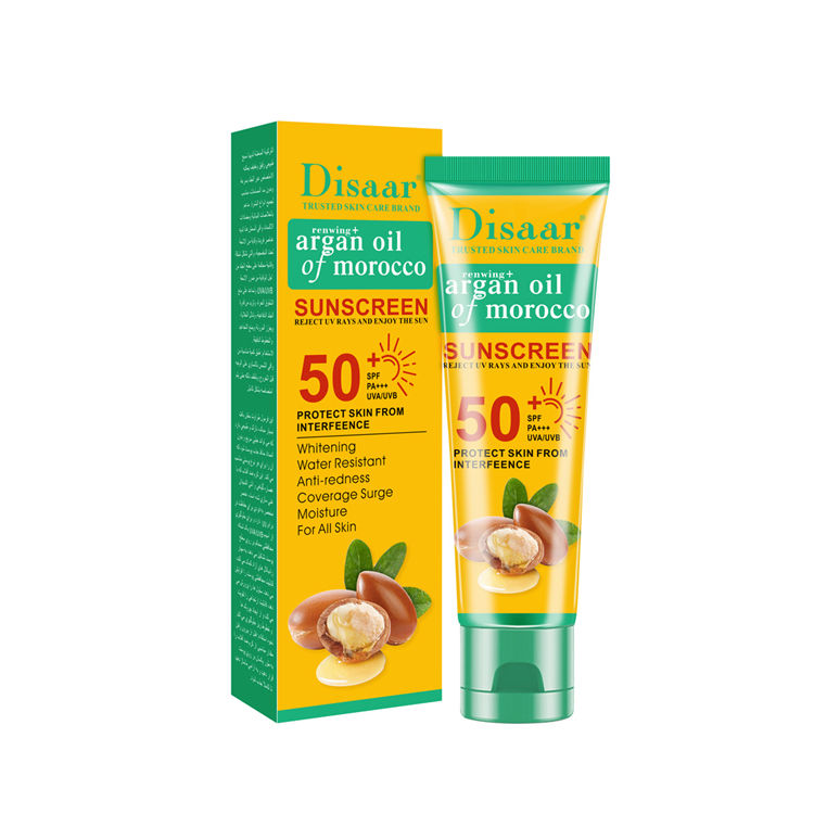 Vanecl Argan Oil of Morocco Sunscreen Protect Skin from Interfeence
