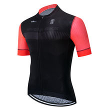 High Quality Cycling Clothing Stripe lycra Sleeve Pro Team Cycling Jersey