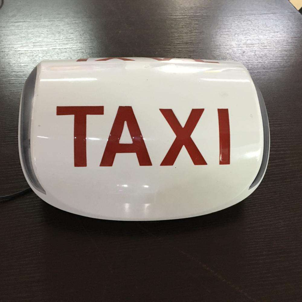 Vacuum Forming super bright taxi top roof advertising light box