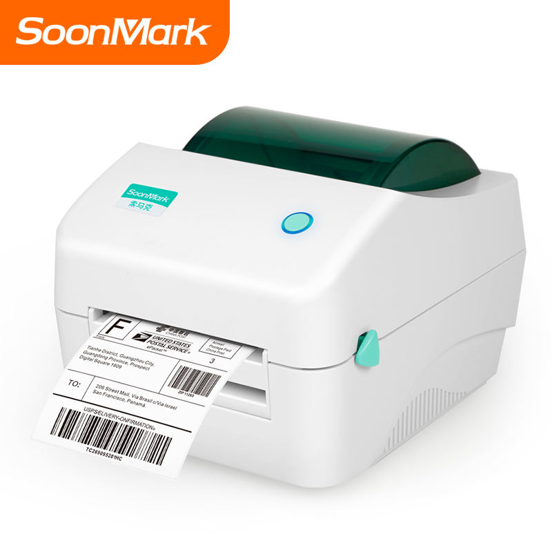 High efficiency 4 x 6 adhesive address stickers direct thermal barcode shipping label printers 4x6 preferential price