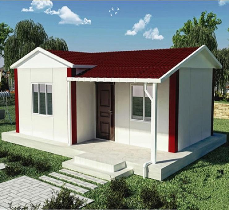 Container New Home House China Origin Place Model Villa Cheap Style Prefab Modular house for shop office apartment