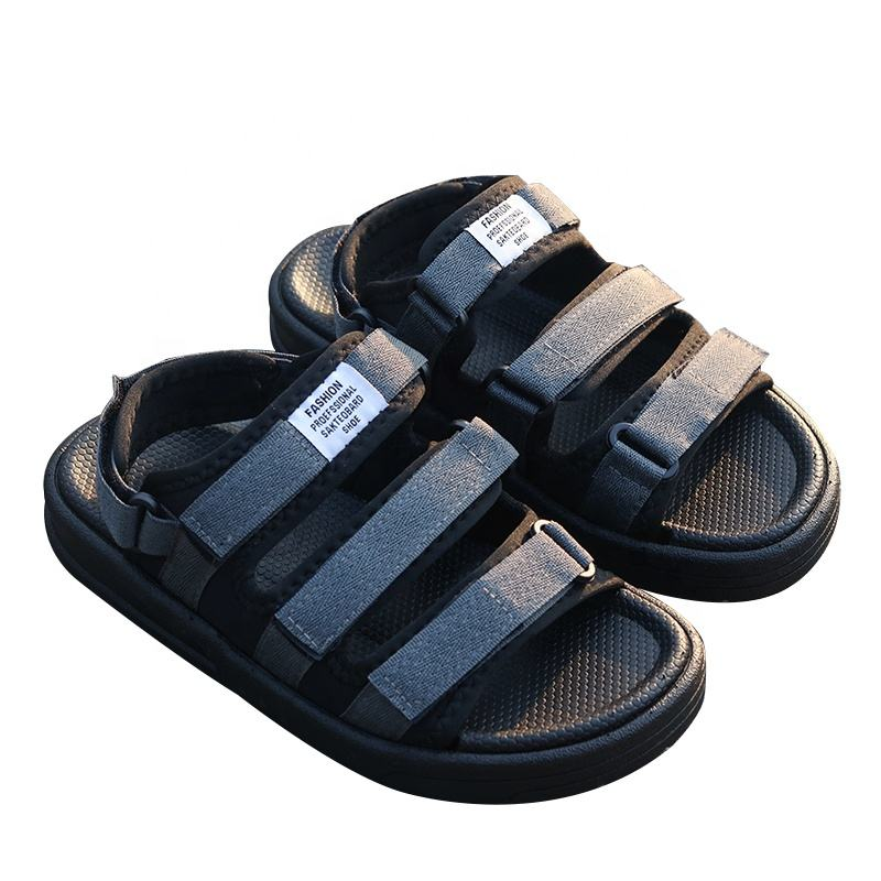 Latest Design Adjustable Hook Loop Summer Casual Mens Shoes Sports Sandals