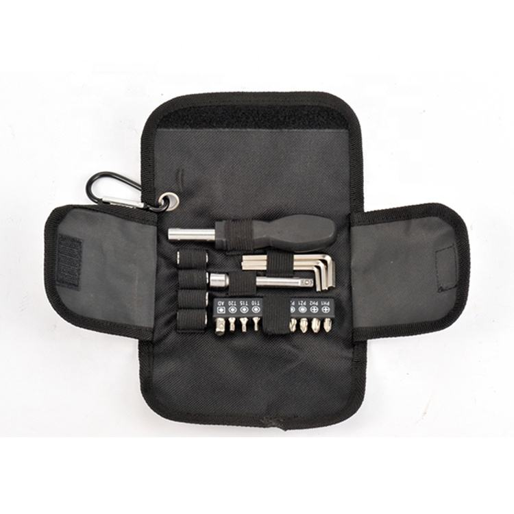 Hot Promotion Product Screwdriver bit socket Combination 20pcs Small Hand Tool Set in bag