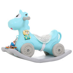 [Ready Stock]Multifunctional Safety Baby Rocking Horse