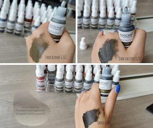 Permanent Make-Up Pigment Tattoo Tinte Ombre Augenbrauen