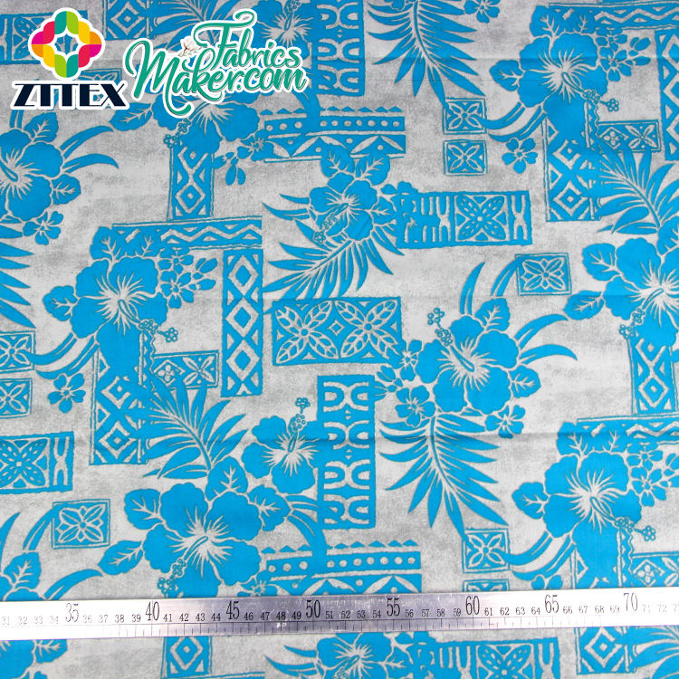 Wholesale digital print mercerised cotton for baby