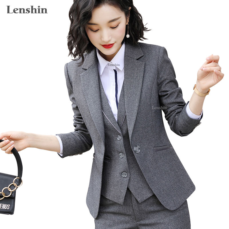 China Factory Direct Sell One Piece Blazer for Women Elegant Jacket Work Wear Keep Slim Office Lady Outwear Single Button