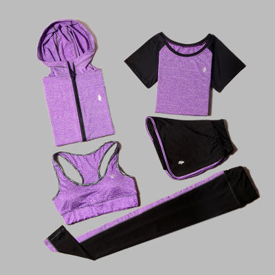 Yoga Suit Sets Clothes Sexy Sports Women Fitness Oem Spandex Style Sportswear Packing Wear Nylon