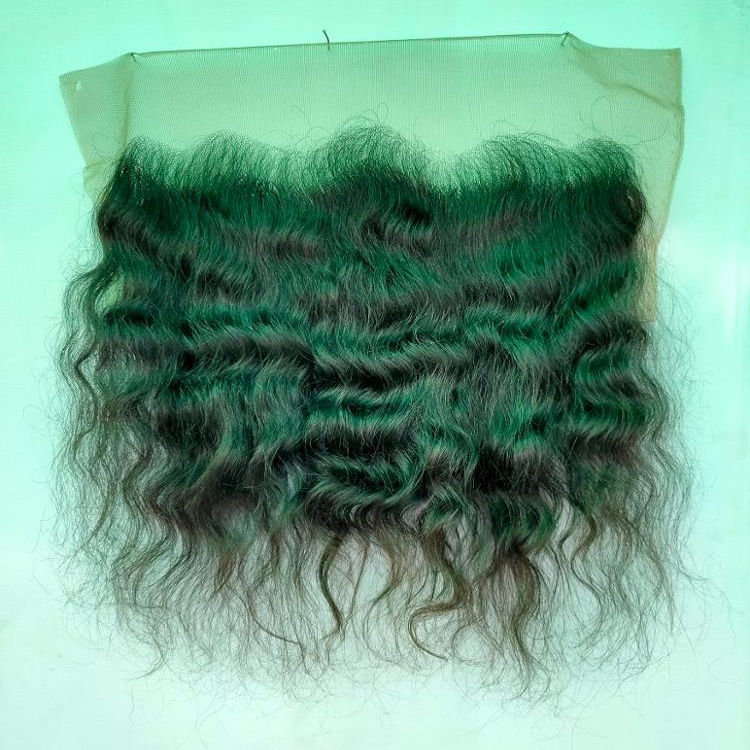 Full Cuticle Aligned Raw Virgin Indian Hair Can be Dyed Bleached Body Wave 13*4 13*6 hd film thin swiss lace frontal