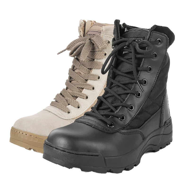 Wholesale Price Desert Military Original Swat Tactical Boots