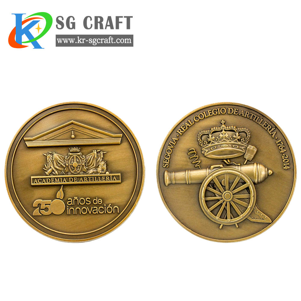 Fashion Custom Etched Any Shape Collectible Coins Metal Polishing Commemrative Challenge Coins