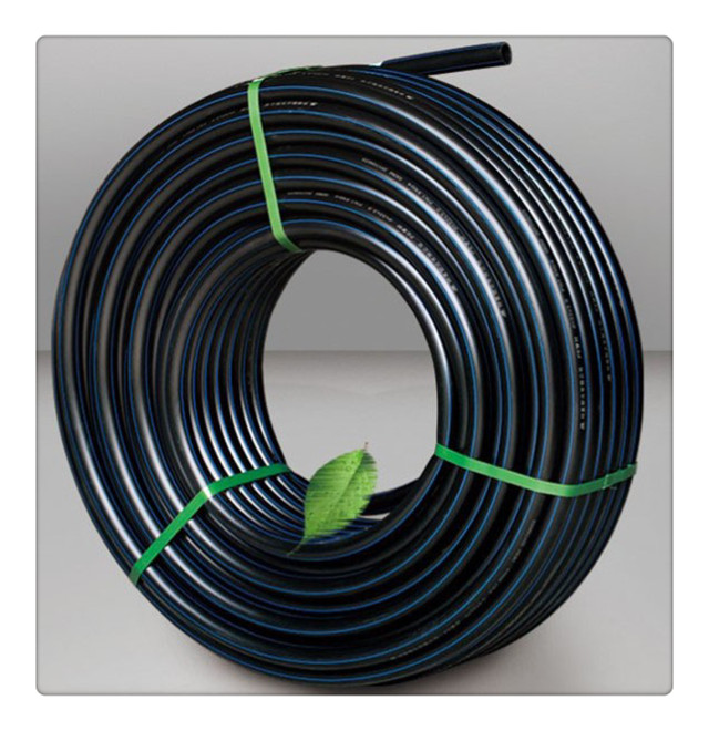 Black HDPE Conduit Pipe for Cable Casing