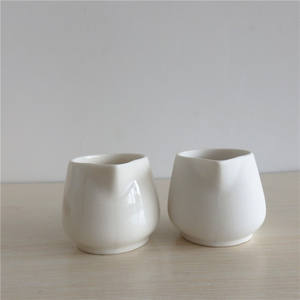 50ml Porcelain massage candle jar with spout