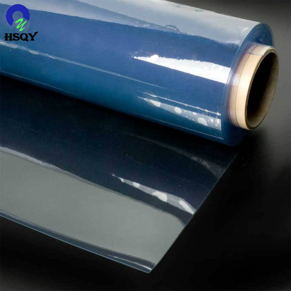 Protective Blue Color Soft Plastic PVC Film for Window Glass