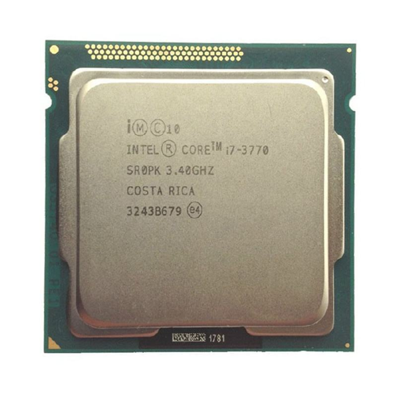 used intel cpu i7 3770 3.4GHz 800pcs in stock for sale now