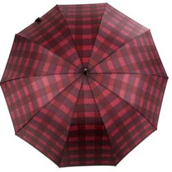 Straight umbrella with stripe