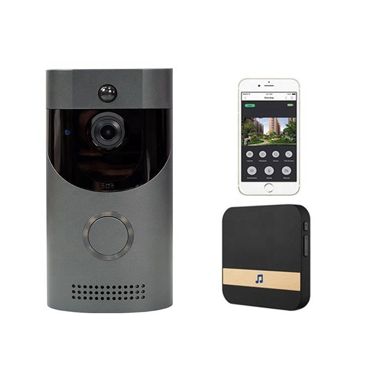 Wireless door camera wifi smart home doorbell camera villa waterproof alarm HD video doorbell intercom apartment