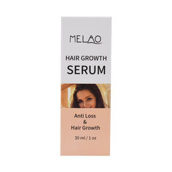 Topical Serum Stops and Accelerates Hair Growth serum private label hair loss treatment 30ml
