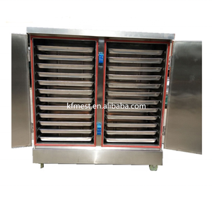 Professional Electric and Gas Rice Steam Cooking Machine/Food Cashew Nut Steamer With 4/6/8/10/12/24 Trays
