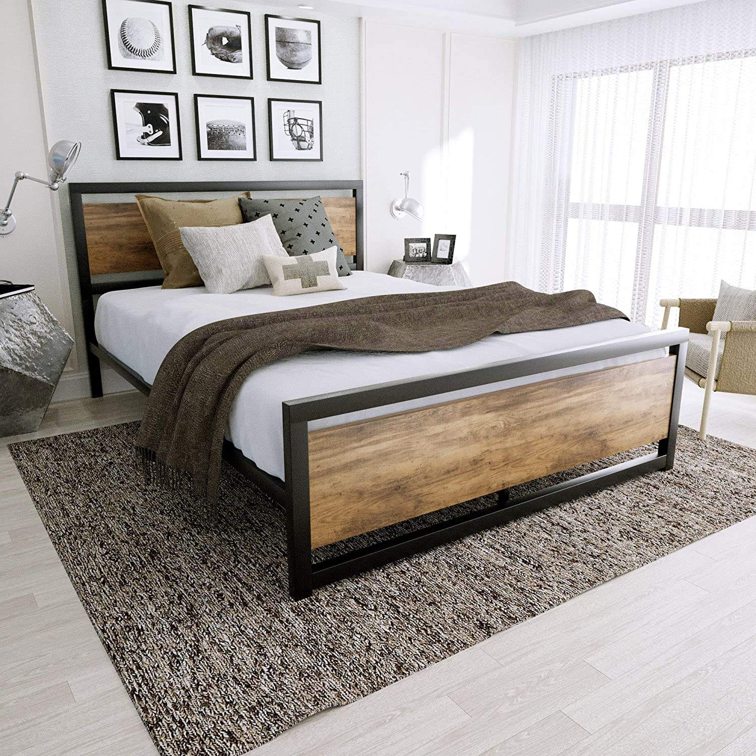 High Quality Modern Simple Bed Designs Solid Fashion Wood Bed