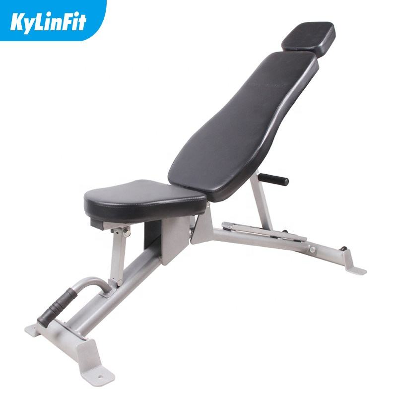 Gym Fitness folding Equipment incline adjustable weight bench dumbbell bench press for gym