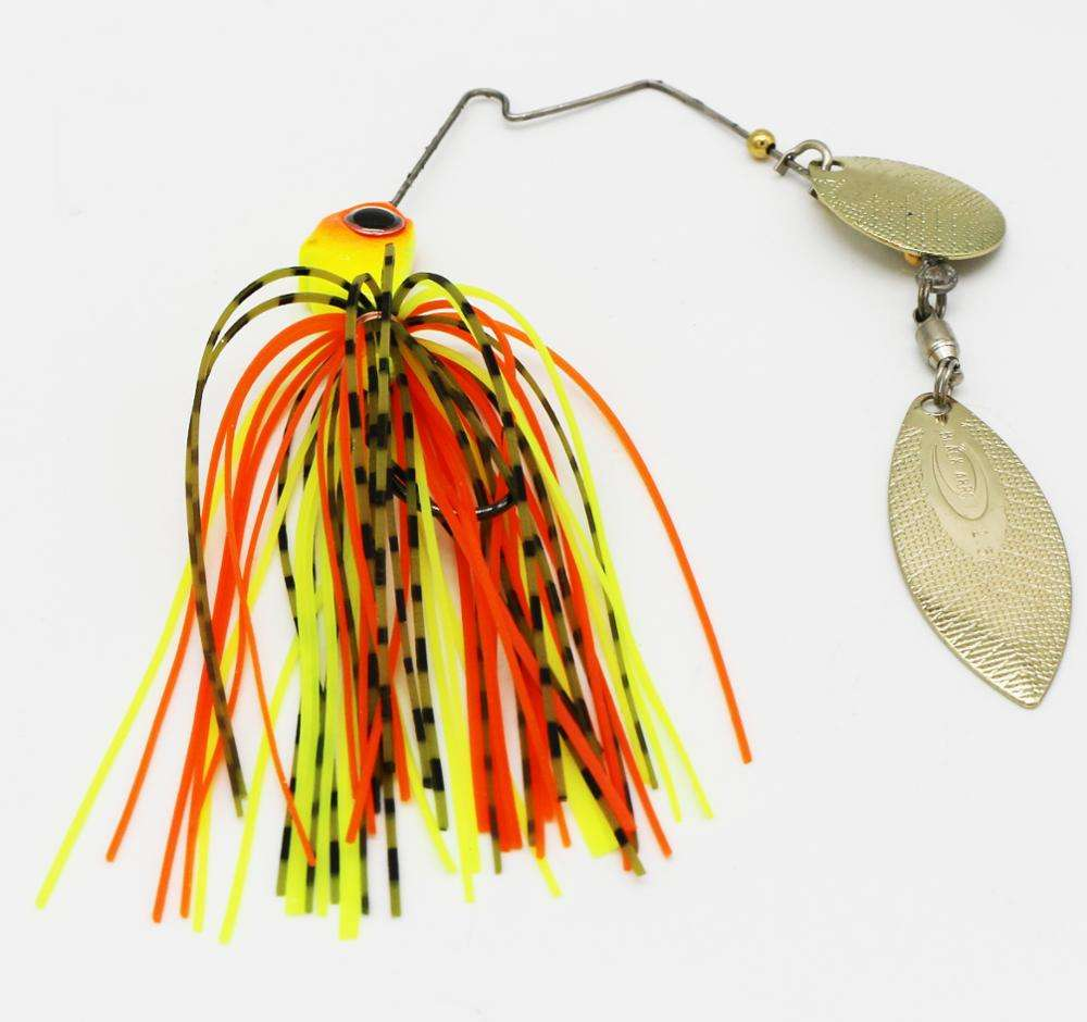 Silicon Skirt Jig Spoon Spinner Fishing Lures Buzz Baits Spinner Bait Hard Bait