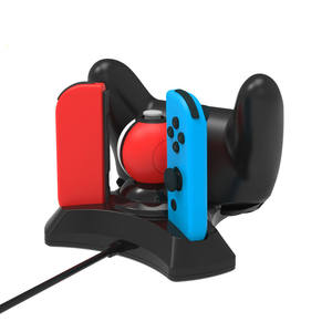 4 в 1 зарядная док-станция для Nintendo Switch Joy-con Pro контроллер для Poke Ball Game Charger Stand Holder