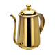 Durable FDA Stainless Steel Handle Coffee Kettle Golden 700 650ml Gooseneck Coffee Tea pot steel Drip Kettle Pot Coffee Pot Lid