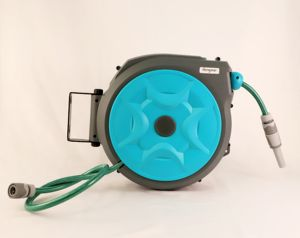Wall Mounted Fleksibel Retractable Otomatis Taman Air Hose Reel 10 M