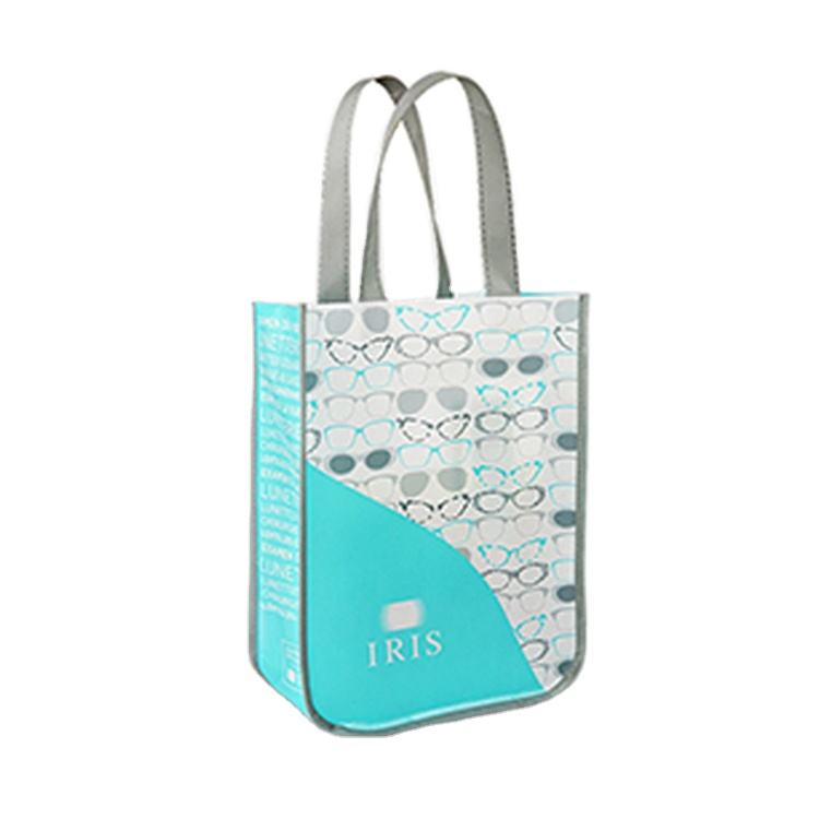 High Quality New Design Factory Price Round Corner Pp Non Woven Tote Bag