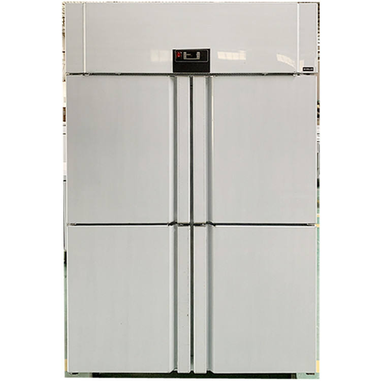 Commercial Bakery Upright Chiller 4 Solid Door Refrigeration For Dough Cake Bread