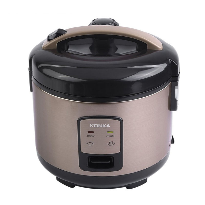 KONKA 3L 1.5Kpa Electric Rice Cooker Micro Pressure Rice Cooking Machine With Non-Stick Coating Detachable Exhaust Valve