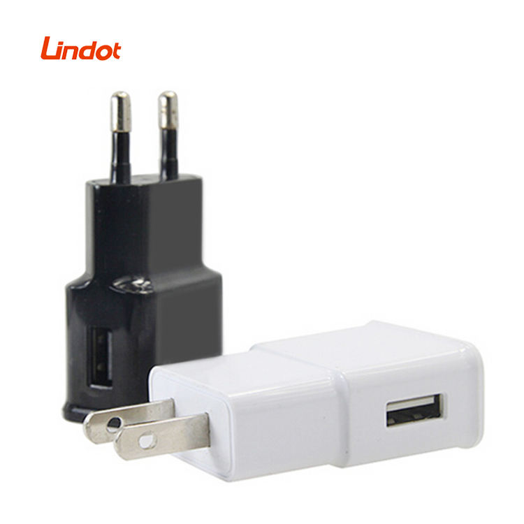 Cellular Cargado DC AC Power Adapter Travel Kit Euro USA Wall Plug 5V 2A USB Charger Mobile Phone