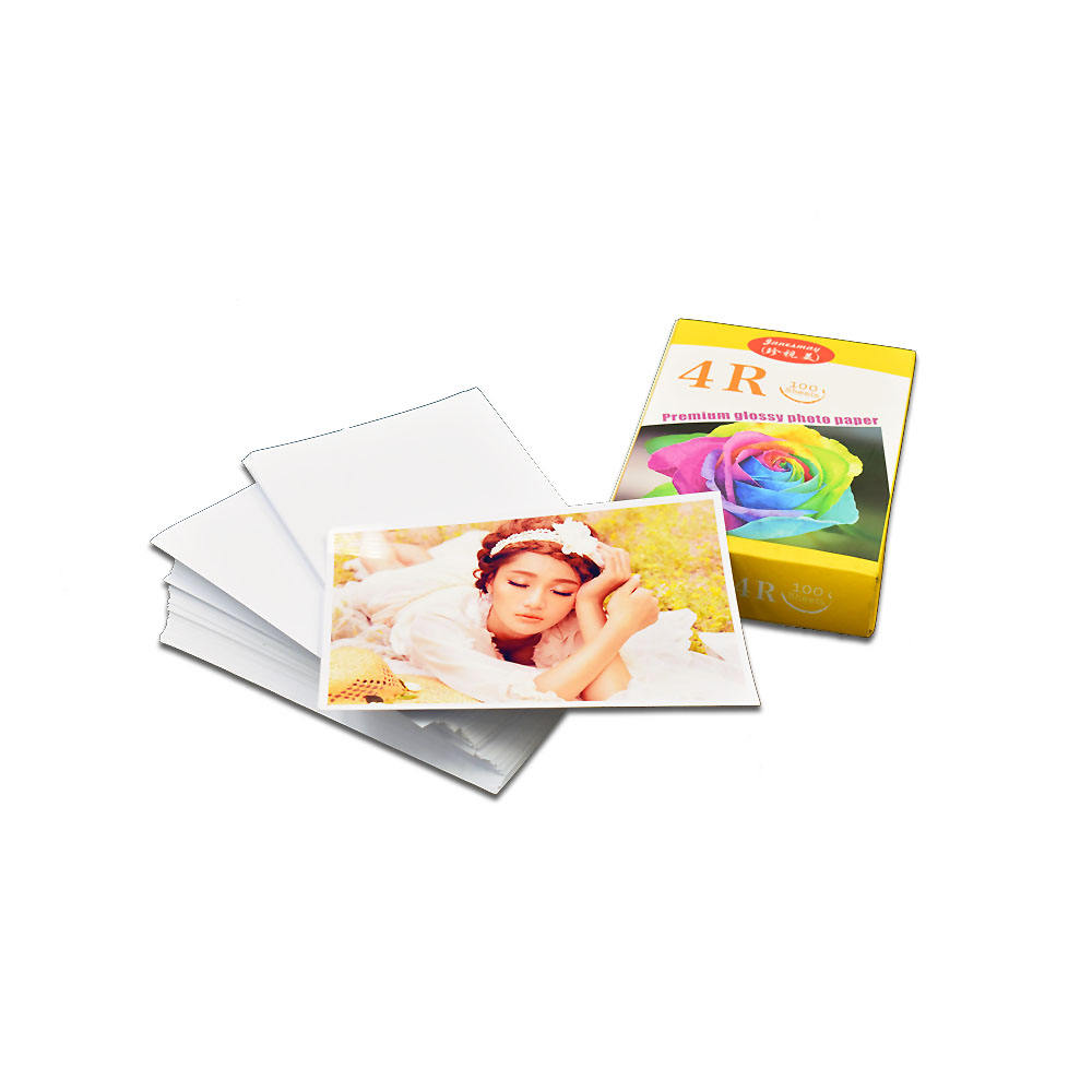 4x6 dye ink based digital single side glossy long lasting per 230g photo paper