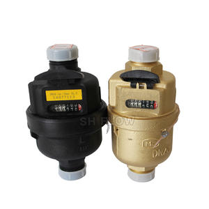 High quality brass vertical dry dial kent volumetric water meter