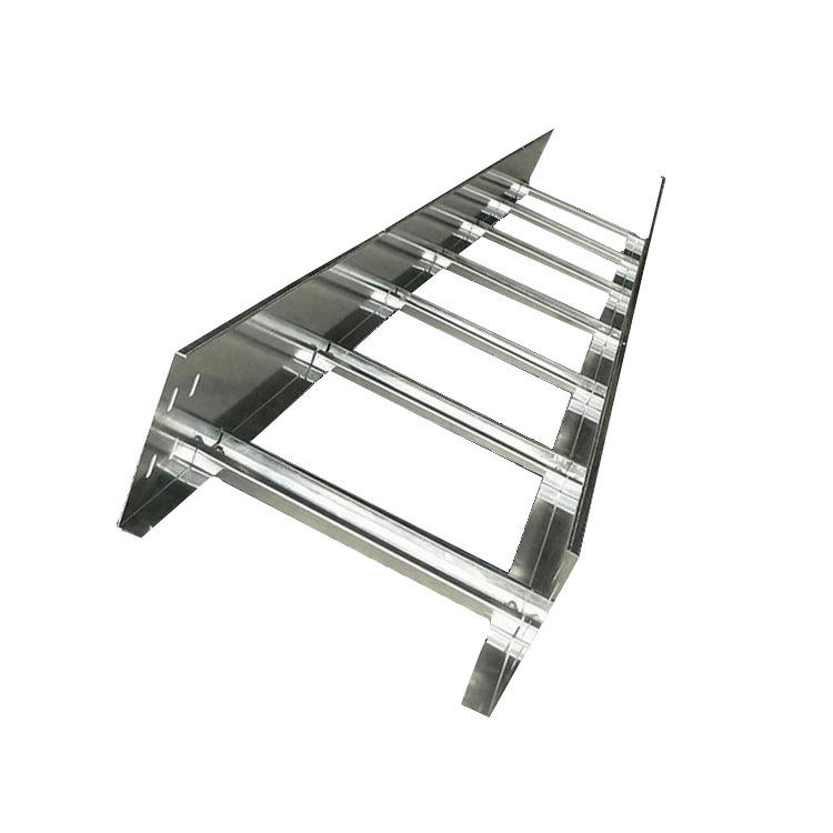 Supplier Customized Cable Tray 300mm 100mm Metal Basket Hot Dip Galvanized Cable Ladder