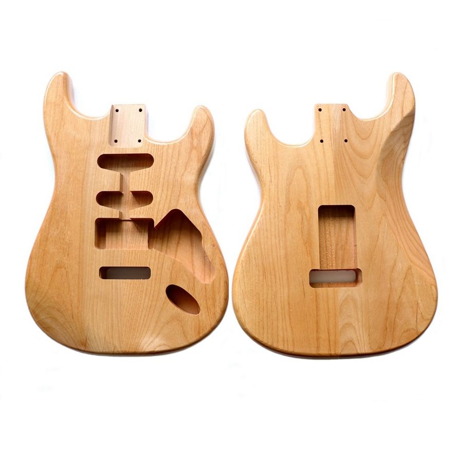 SSH electric guitar bodies 2 piece Alder wood ST guitar body Unfinished with sealer coating
