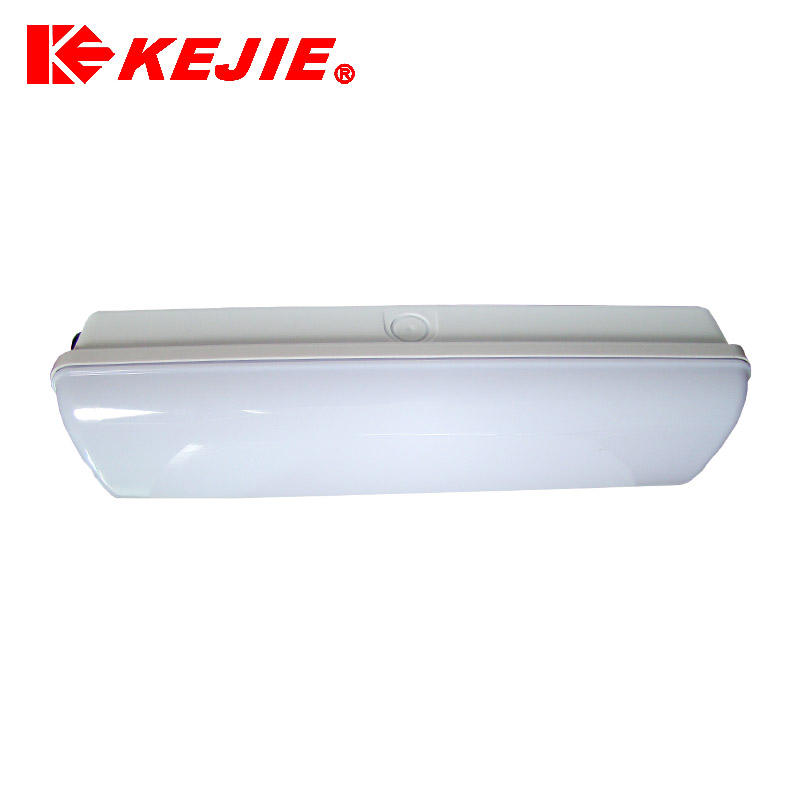 KEJIE Popular waterproof rechargeable emergency light IP65 emergency bulkhead 3H for TUV approved