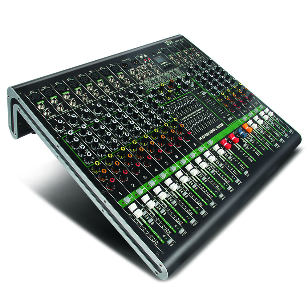 High Quality 12 Channel Professional Powered Digital Mixer Audio
