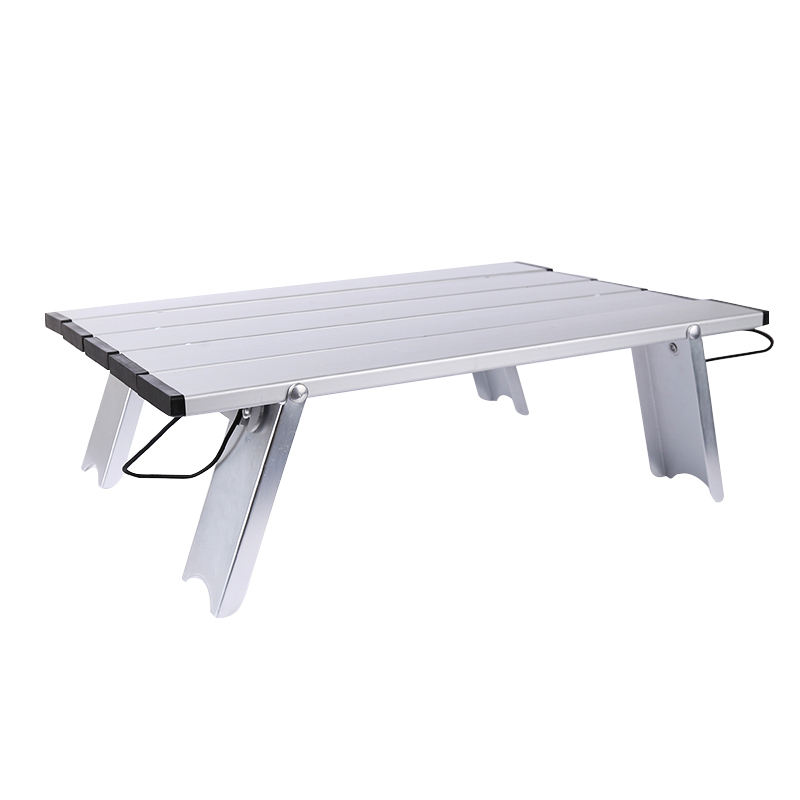 Ready to ship foldable aluminum table multi-function foldable mini table