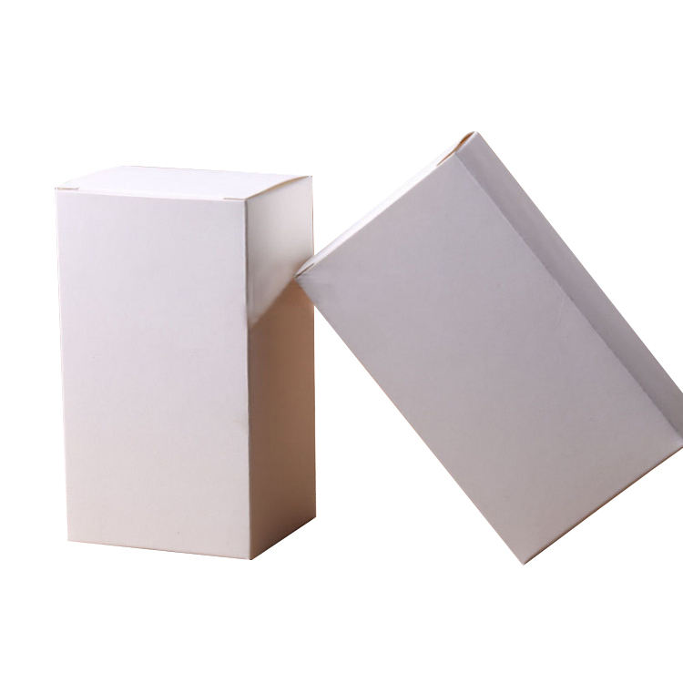 Personal Care [ Packaging Box Board ] Cosmetic Packaging Paper Box Customized Foldable Personal Care Products Packaging Box Wholesale Blank 350gsm Ivory Board Cosmetic Essential Oil Paper Box