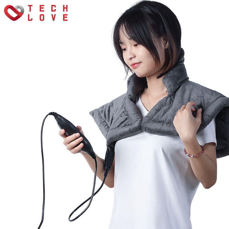 Heating therapy can be washed short moxibustion electrical heating shawl