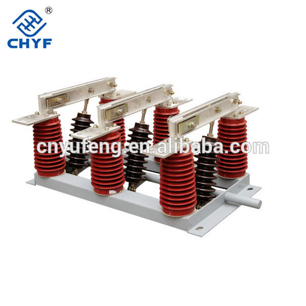 Indoor Electric High voltage switchgear 40.5KV Isolator Switch
