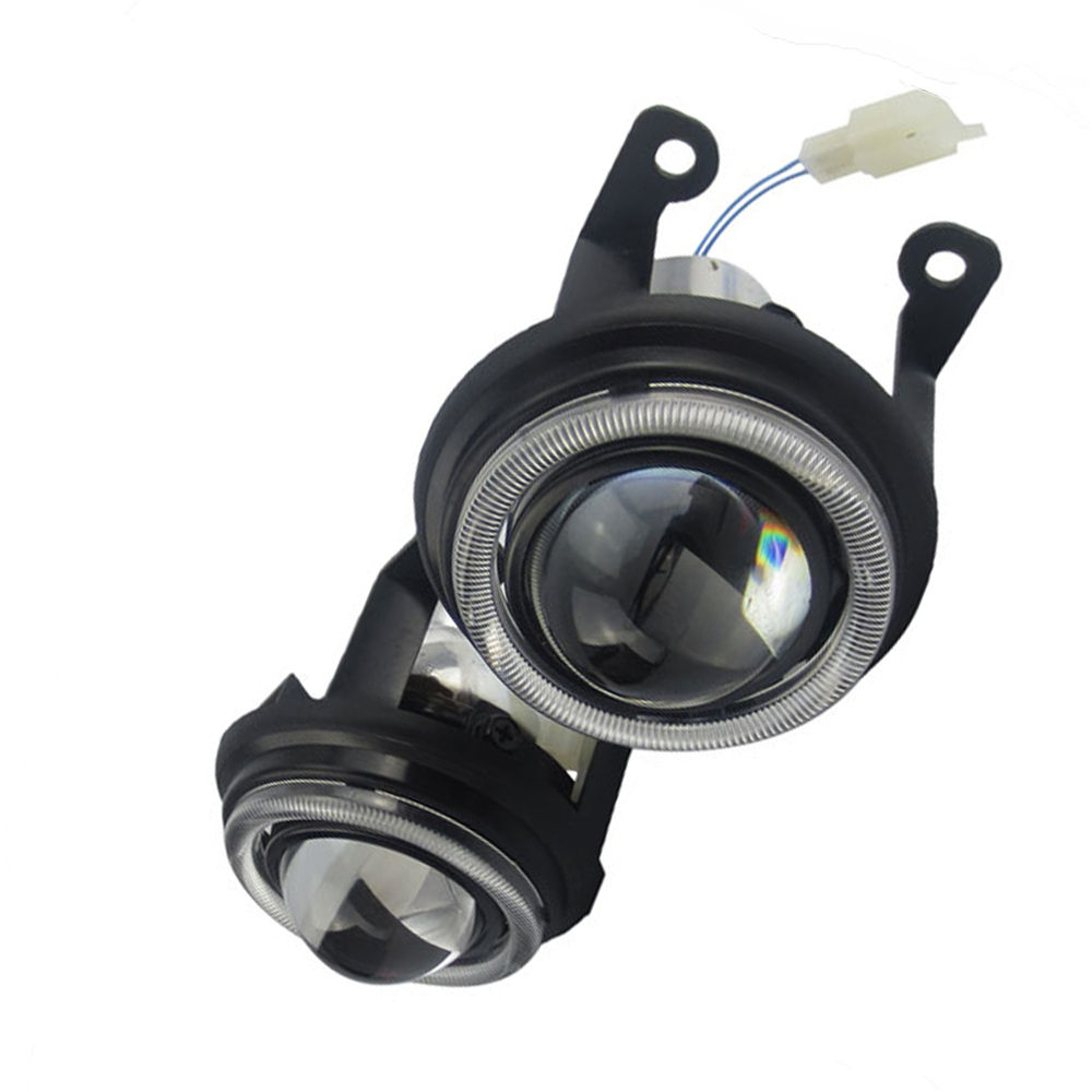 car spare parts H11 H9 bulb light fog lens LED xenon lamp for Nissan note aprio Megane clio