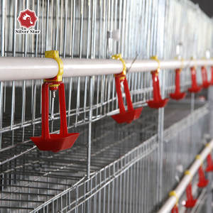 H type chicken cage broiler raising cage factory for sales