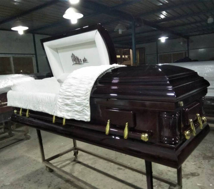 popular wooden casket KENWOOD funeral coffin prices