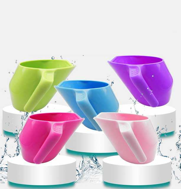 New style oblique mouth PP baby learn to drink juice milk cup children gargle cup anti drop training cup